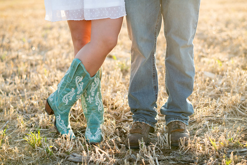 Cowgirl and Cowboy boots