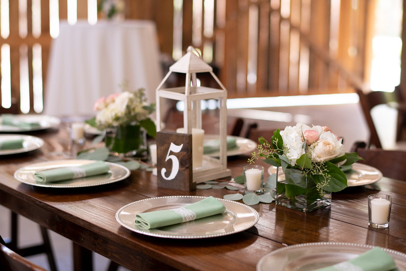 Wedding Reception Table Centerpiece