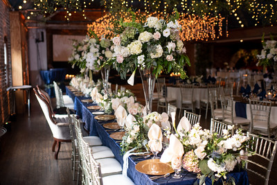 Reception Table Center Pieces