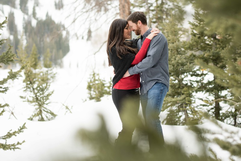 Salt Lake City Engagement Photos