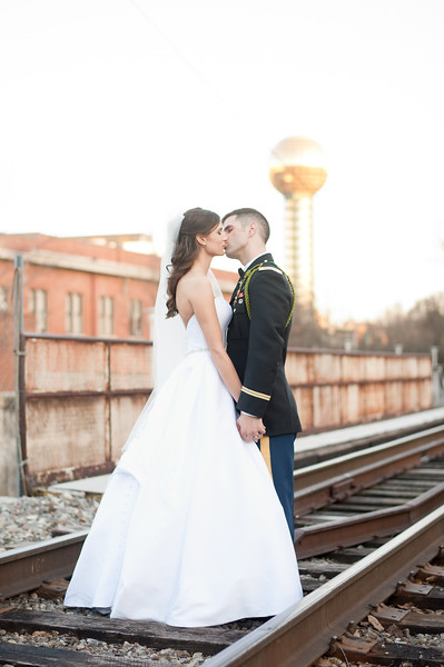 Downtown Knoxville Sunsphere Wedding
