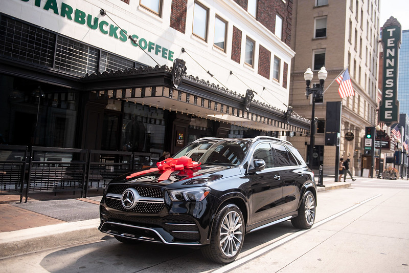 New Mercedes Wedding Gift