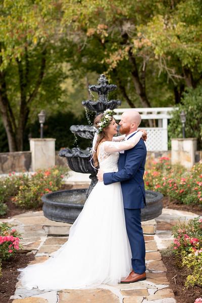 Romantic Rose Garden Couple