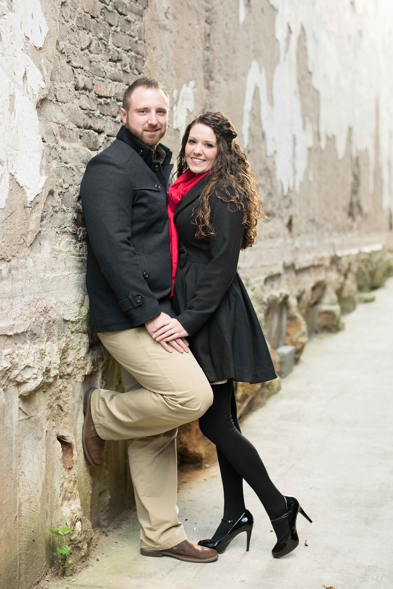 Downtown Knoxville Engagement Photographer