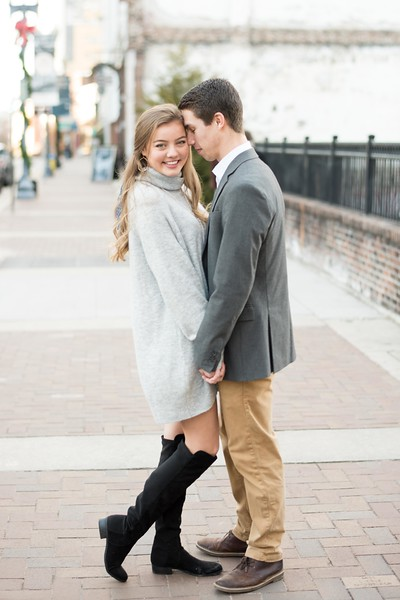 Classy Winter Engagement