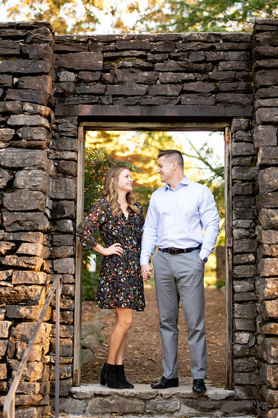 Knoxville Botanical Garden Engagement Session