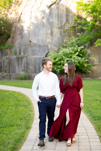 Rock Quarry Engagement