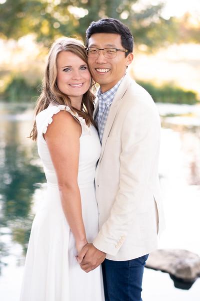 Classy Engaged Couple