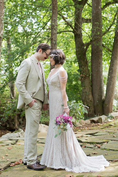 Dara's Garden Wedding in Knoxville, Tennessee