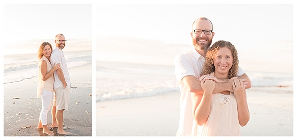Sunrise Family Beach Session Cocoa Beach Florida_0005