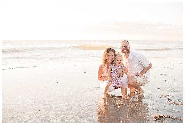 Sunrise Family Beach Session Cocoa Beach Florida_0009