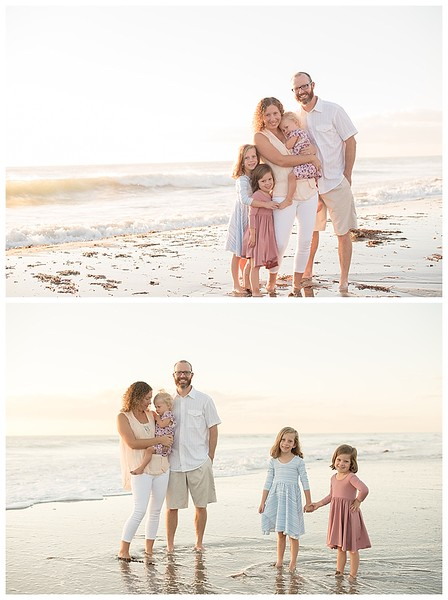 Sunrise Family Beach Session Cocoa Beach Florida_0008