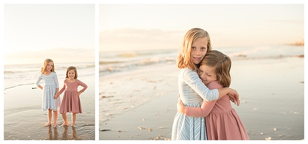 Sunrise Family Beach Session Cocoa Beach Florida_0006
