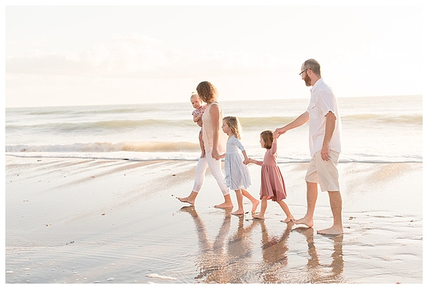 Sunrise Family Beach Session Cocoa Beach Florida_0001