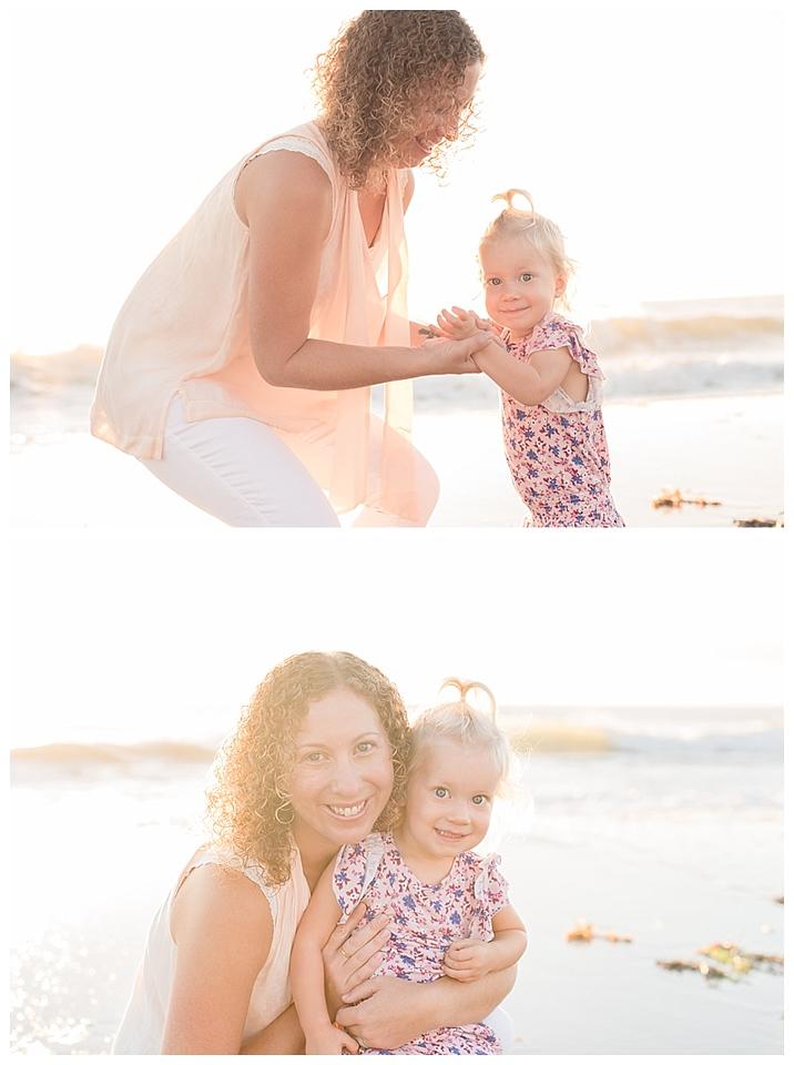 Sunrise Family Beach Session Cocoa Beach Florida_0007