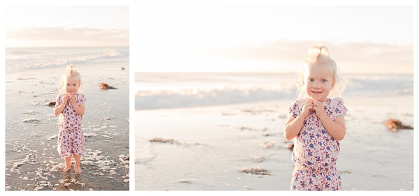 Sunrise Family Beach Session Cocoa Beach Florida_0004