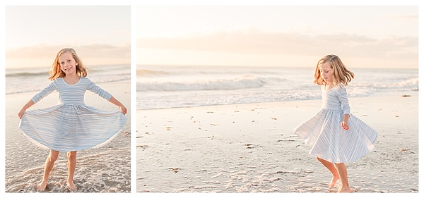 Sunrise Family Beach Session Cocoa Beach Florida_0002