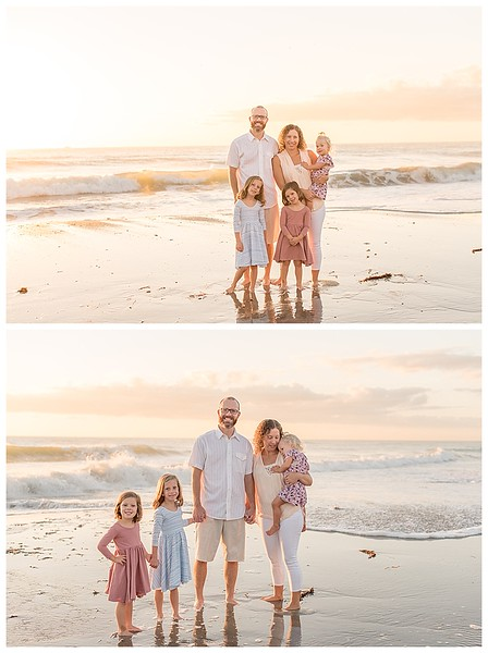 Sunrise Family Beach Session Cocoa Beach Florida_0011