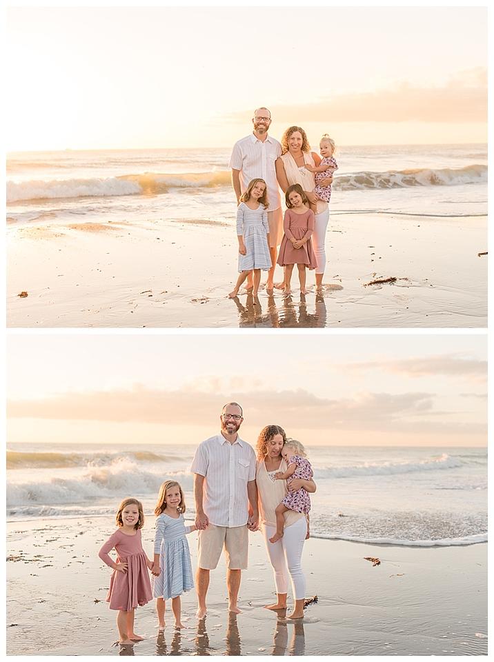 Sunrise Family Beach Session Cocoa Beach Florida_0011