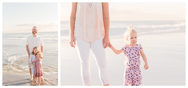 Sunrise Family Beach Session Cocoa Beach Florida_0010