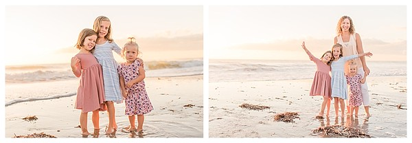 Sunrise Family Beach Session Cocoa Beach Florida_0012