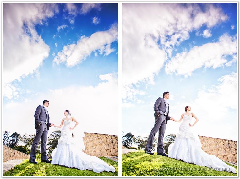 Queens Gardens and Frasers Restaurant Wedding  | Jade and Aaron JA 0892 Edit XL