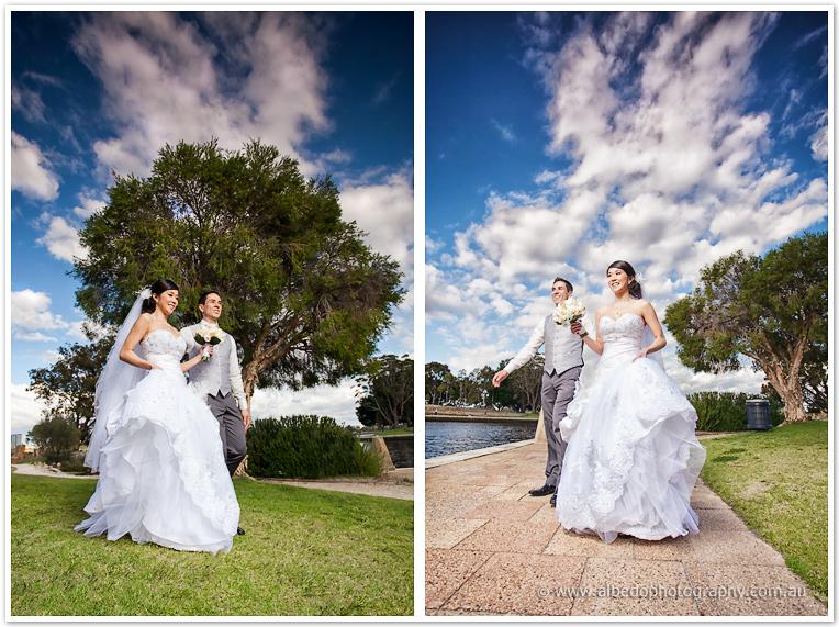 Queens Gardens and Frasers Restaurant Wedding  | Jade and Aaron JA 0946 Edit XL