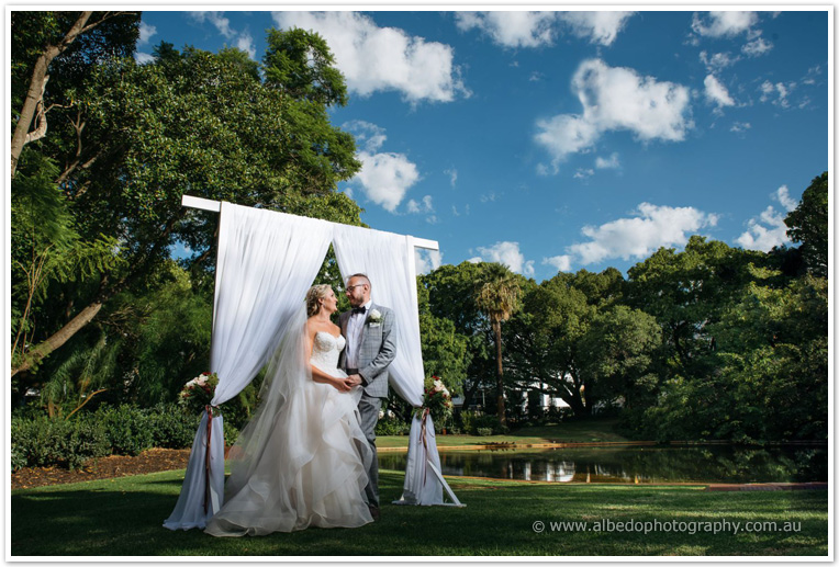Harold Boas Gardens Wedding