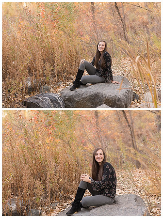 Highlands Ranch Colorado Girls Fall Senior Session-8