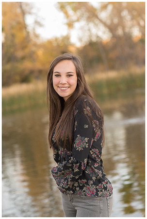 Highlands Ranch Colorado Girls Fall Senior Session-10