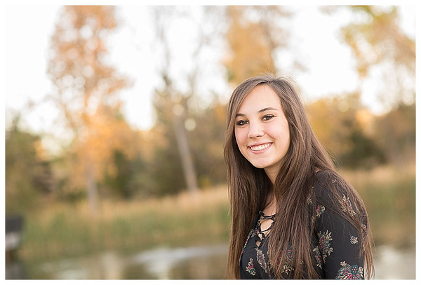 Highlands Ranch Colorado Girls Fall Senior Session-2