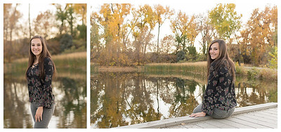 Highlands Ranch Colorado Girls Fall Senior Session-3