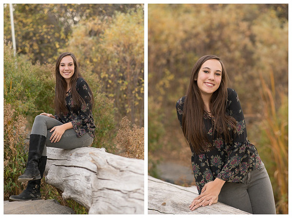 Highlands Ranch Colorado Girls Fall Senior Session-5
