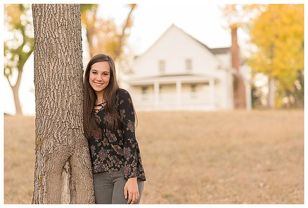 Highlands Ranch Colorado Girls Fall Senior Session-6