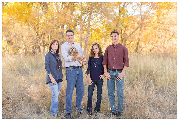 Littleton Colorado Fall Family Session-1