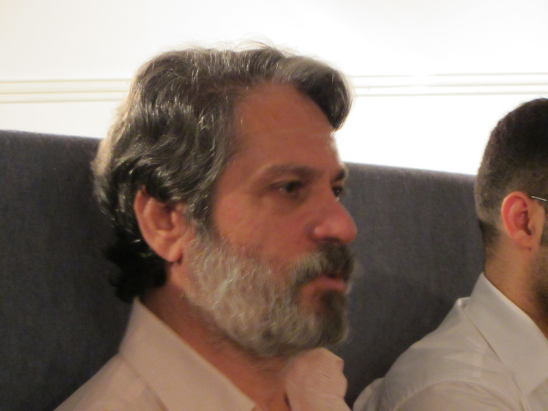 Subhi Hadidi während seines Vortrags im Grazer Afro Asiatischen Institut am 17.9.2011