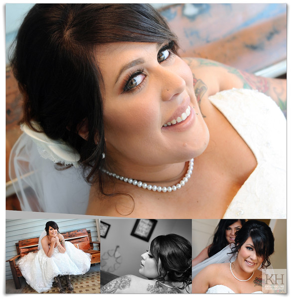 Beautiful bride Shealin