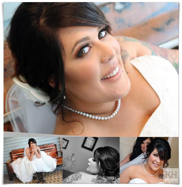 Beautiful bride Shealin