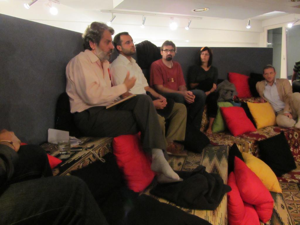 Vortrag von Subhi Hadidi im Grazer Afro Asiatischen Institut am 17.9.2011