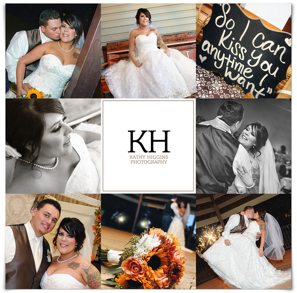 Shealin and Steven's country wedding