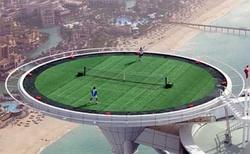 Dubai Hotel Tennis Court / Helipad