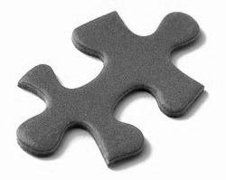 grey puzzle piece