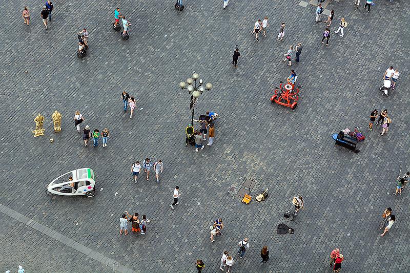 Prag, juni