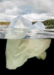 Toppen av ett isberg