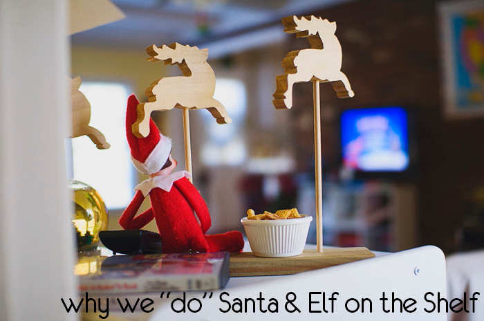 Why our family chooses to do Santa and the Elf on the Shelf, by Carey Pace