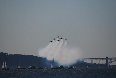 Blue Angels at SF Fleet Week 08