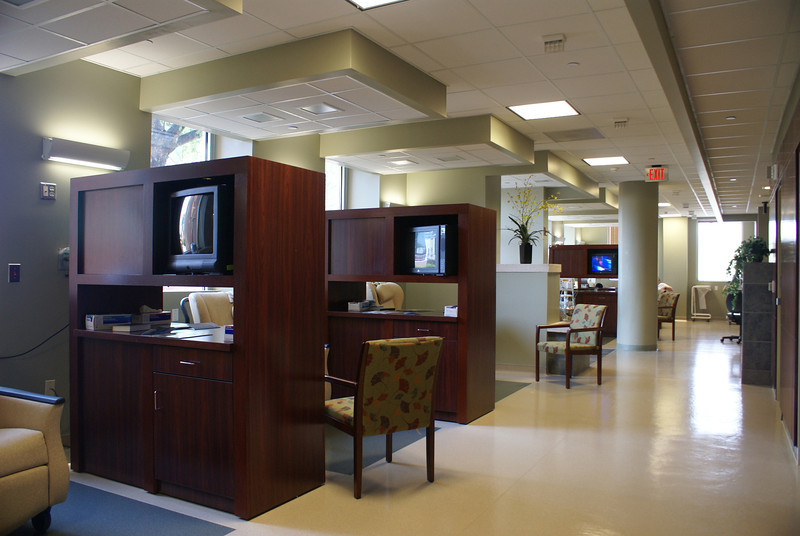 Oncology treatment area