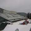 seating for the snowboard events - Cypress