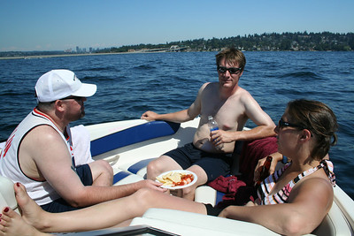 Boating On Lake Washington July 2006