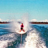 Craig bare foot skiing on Fairbairn Dam just before his next trip to Vancover in Canada, where he worked for almost a year. Snow ski, water ski. All top fun with fun folks.
